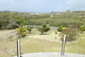 View from 1st Floor overlooking property and Pigeon Island