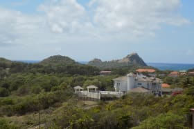 Cap Estate with Pigeon Island Backdrop