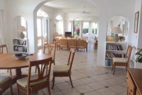 Semi Open-Plan Living Area