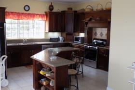 Kitchen with Island & Breakfast Bar