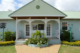Front of the bungalow