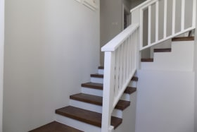 Internal Staircase with Wooden Accents