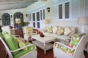 Spacious Living Area on Verandah