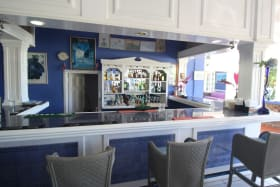 Bar Area (with marble tile)