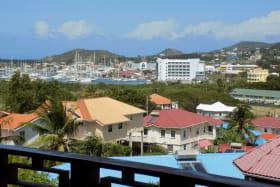 View of Rodney Bay Marina