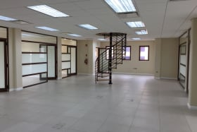 3rd floor open plan space with 7 private offices