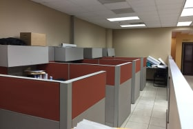 4 cubicles
