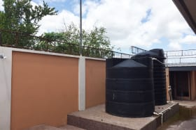 water tanks and dog kernel