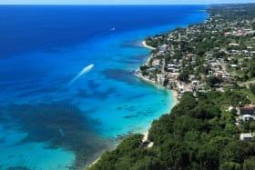 Aerial of the coastline