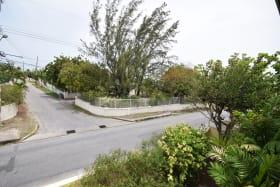 Main road from upstairs balcony