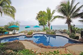Main terrace and swimming pool wonderful sea views