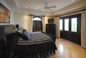 Master bedroom opens to terrace