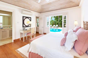 Guest Bedroom opens to the Pool terrace