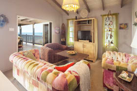 Modern furnishings in the 2nd floor Living Room