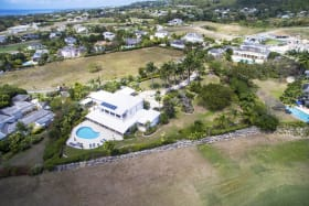 Aerial shot of Tradewinds