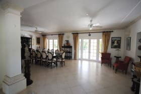 Entrance leads to spacious dining room