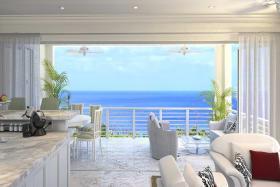 Views of the Caribbean Sea
