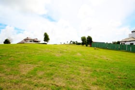 Large residential plot