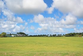 View of the Polo Field from the northern boundary