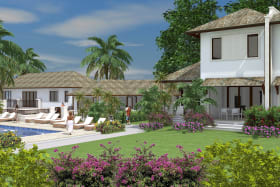 The Ylang Ylang Villas are located on the east of the development