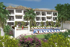 The Passion Fruit Suites are located on the west of the development