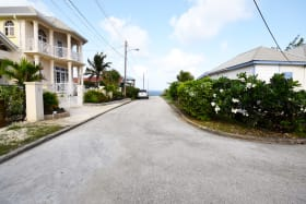 Neighbourhood street - slight sea view