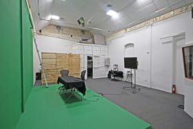 Rear portion of the space