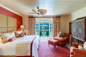 Master suite with spectacular views of the marina