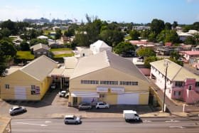 Aerial View of Whitepark Warehouse and Office
