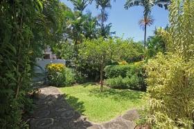 Gardens at the entrance