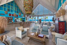 Sandy Lane Beach Club great room and bar