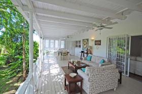 Sitting room on the veranda
