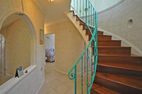 Attractive stairwell