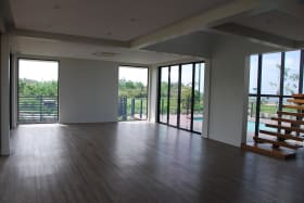 View of Living area from kitchen