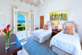 Bedroom 3 has sea views