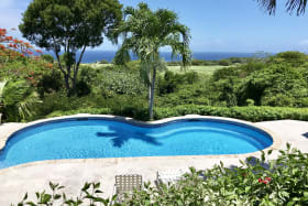 Pool and lovely sea views