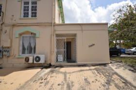 Back entrance to 2nd Ave Belleville, Barbados
