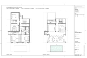 Villa Emerald floor plans
