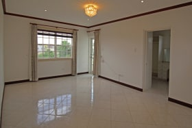 Master bedroom suite with private balcony