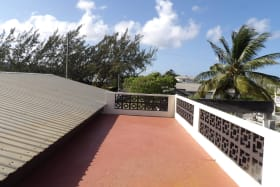 Roof Deck area