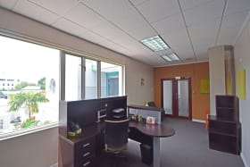 Bright office