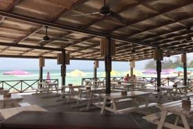 Huge Covered Restaurant