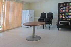 Lunch room on ground floor