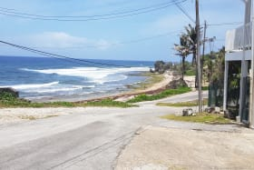 Road View from the ocean side