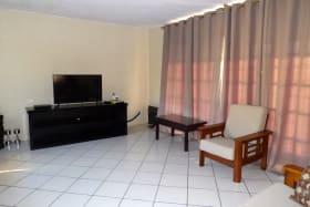 Living room in apt 1