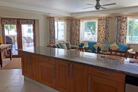 Open-plan Kitchen & Living