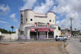 Front View of The Globe Cinema