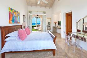 Bedroom 1 has sea views