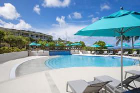 Beach View garden pool