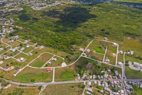 Aerial view of The Grove